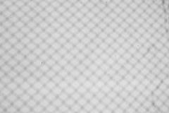 Rede branca da sombra da parede foto de stock