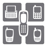 Rede celular Imagens de Stock