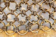 Rede Chain da malha Foto de Stock