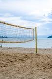 Rede da bola da salva na praia Fotos de Stock