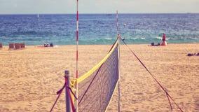 Rede da salva na praia Fotos de Stock Royalty Free