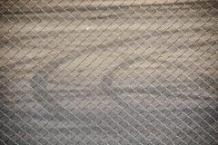 Rede de arame de aço para o esporte de Raceway da cerca imagens de stock