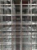 a rede de arame do metal imagem de stock