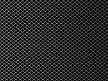 Rede de arame Ilustração do vetor no fundo preto ilustração do vetor
