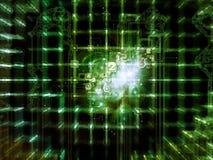 Rede de computação Fotografia de Stock Royalty Free