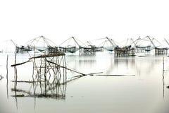 Rede de mergulho quadrada foto de stock