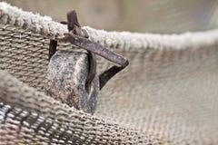 Rede de pesca. Imagem de Stock