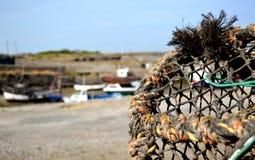 Rede de pesca Fotografia de Stock Royalty Free