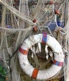 Rede de pesca em Camogli em Riviera Ligurian Imagens de Stock Royalty Free