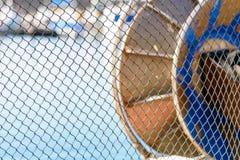 A rede de pesca que encontra-se no sol Imagens de Stock Royalty Free