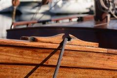 A rede de pesca que encontra-se no sol Fotografia de Stock Royalty Free
