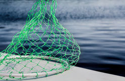 Rede de pesca verde Imagens de Stock Royalty Free