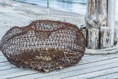 Rede de tração, rede de pesca Foto de Stock Royalty Free