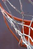 Rede do basquetebol Fotografia de Stock