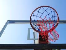 Rede do basquetebol Fotos de Stock Royalty Free