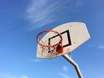 Rede do basquetebol imagens de stock royalty free