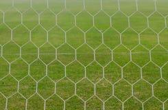 Rede do futebol Fotos de Stock Royalty Free