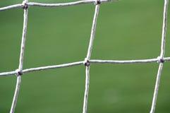 Rede do futebol Fotografia de Stock Royalty Free