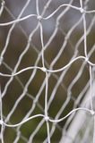 Rede do futebol Foto de Stock