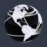 Rede do mundo Ilustração Stock