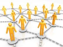 Rede do negócio Imagem de Stock