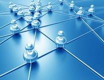 Rede do negócio Foto de Stock