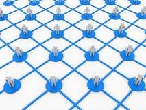 Rede do negócio Fotos de Stock