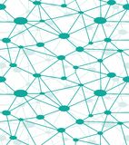 Rede do neurônio Imagem de Stock