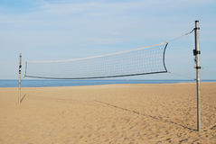 Rede do voleibol Fotos de Stock