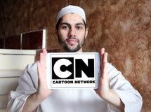 Rede dos desenhos animados, logotipo da NC imagem de stock royalty free