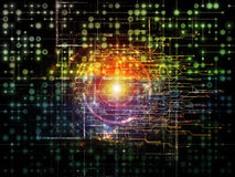 Rede e além Imagem de Stock