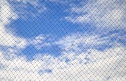 Rede e o céu Foto de Stock