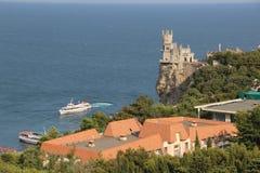 Rede för svala` s på den Crimean halvön Arkivbild