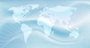 A rede global Imagem de Stock