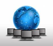 Rede global Fotografia de Stock