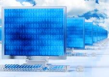 Rede informática Imagem de Stock Royalty Free