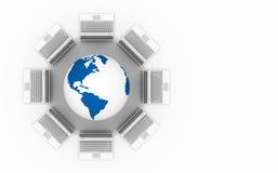Rede informática. Imagens de Stock Royalty Free