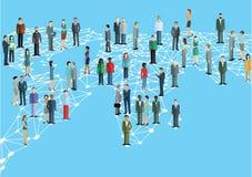 Rede mundial Imagens de Stock
