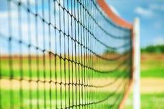 Rede para o voleibol foto de stock