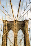 A rede - ponte de Brooklyn Imagem de Stock Royalty Free