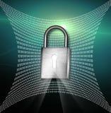 Rede segura Fotografia de Stock