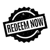 Redeem Now rubber stamp Royalty Free Stock Image