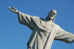 Redeemer. Christ the Redentor - Rio de Janeiro, Brazil royalty free stock photo