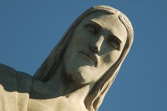 Redeemer. Christ the Redentor - Rio de Janeiro, Brazil royalty free stock image
