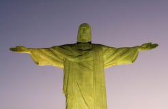 redeemer ночи christ Стоковые Фотографии RF