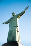 Christ a estátua do redentor Imagem de Stock Royalty Free