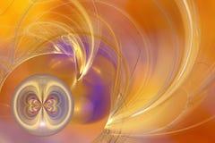 Redemoinho da esfera de Buttfly Imagem de Stock Royalty Free