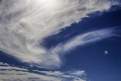 Redemoinho da nuvem imagens de stock royalty free