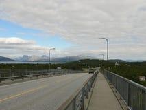 Redemoinho de Saltstraumen da paisagem de Noruega Foto de Stock