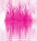 Redemoinho de seda da ondinha do fumo Imagens de Stock Royalty Free